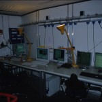 Beobachtungsraum 3.5m Teleskop