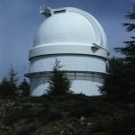 Kuppel des Schmidt Teleskops