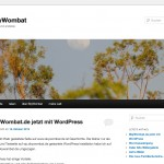 skywombat.de mit WordPress