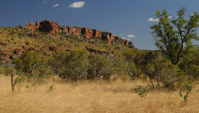 Berge im Northern Territory