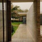 Barcelona Pavillon - Sichtachse