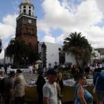 Teguise - Marktplatz am Markttag