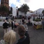 Panorama Marktplatz Teguise
