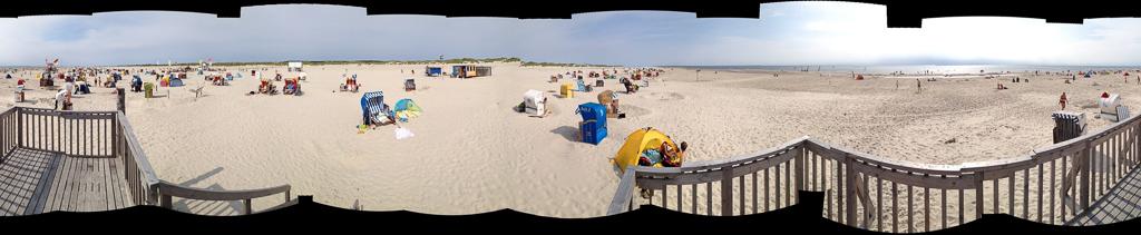 Kniepsand Panorama